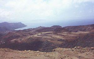 Biodiversity of New Caledonia - Mining vista