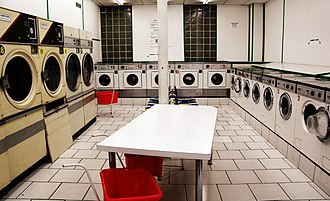 Laundry - A self-service laundry in Paris