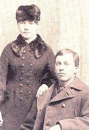 Laura and Almanzo Wilder, 1885
