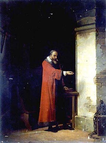 Галилей в тюрьме Жан Антуан Лоран