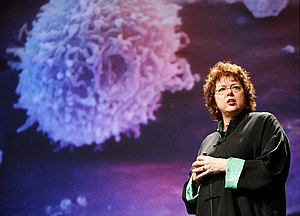 Laurie Garrett - Garrett at the 2008 Poptech conference.