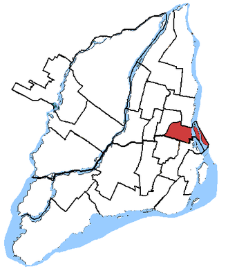 Laurier—Sainte-Marie - Image: Laurier, riding