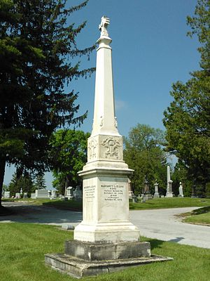 Antoine Le Claire - Le Claire Graves at Mt. Calvary Cemetery