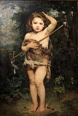 Young Saint John the Baptist