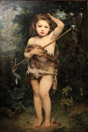 Young Saint John the Baptist