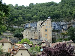 Le château médiéval de Larroque-Toirac - Département du Lot (46) - France - Juin 2011 - Photo 01.jpg