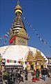Le stupa de Swayambhunath à Katmandou (8435897258).jpg
