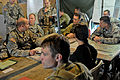 Leaders of the 4th IBCT (A) provide battle update to Australian army major general 130723-A-ZX807-007.jpg