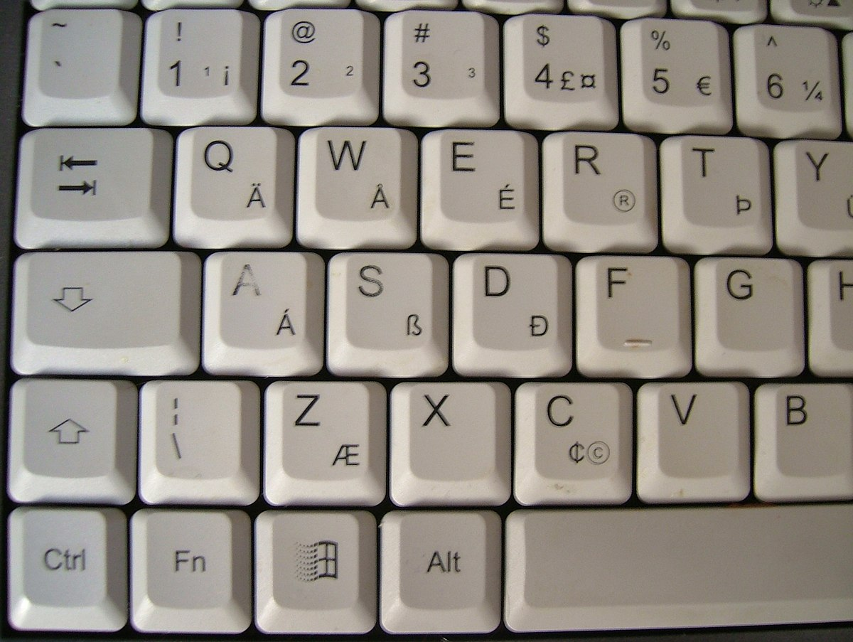 AltGr Key Wikipedia - Map us keyboard