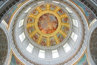 Jules Hardouin-Mansart - Image: Les Invalides The dome over the tomb of Napoleon