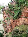 Leshan da fo Leshan Giant Buddha Stairway to Feet 2008.jpg