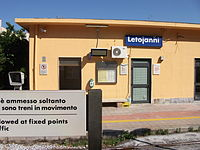 Letojanni RFI Train Station - 1st Platform.jpg
