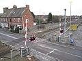 Level crossing, Mill Lane, Dorridge B93, 2 - geograph.org.uk - 2196452.jpg