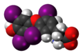 Levothyroxine zwitterion 3D spacefill.png