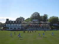 The Dripping Pan, here being used for football