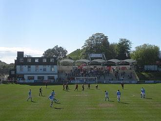 The Dripping Pan - Image: Leweshomeend