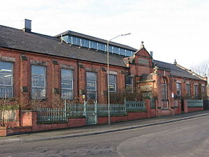 Vulcan Iron Works - The mess room for Ley's Malleable Castings in Colombo Street, Derby