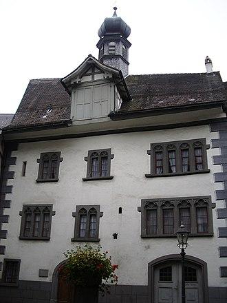 Lichtensteig - Old Town Council Building