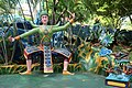 Lifesize figure of Thai dancer, Haw Par Villa (14813715673).jpg