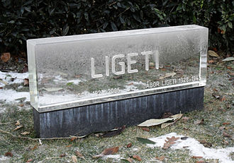 György Ligeti - Ligeti's grave in Vienna Central Cemetery, Vienna