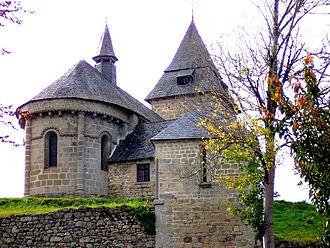 Liginiac - The church in Liginiac