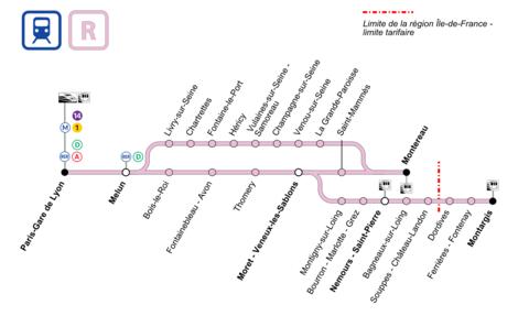 Ligne r du transilien wikip dia for Plans de bricolage en ligne