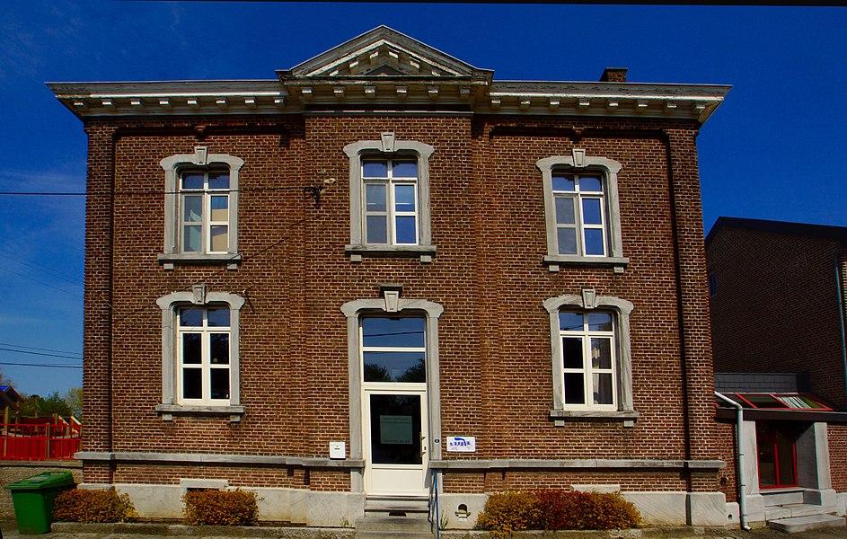 Geer (Ligney),  Belgium: Former Town Hall
