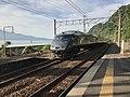 "Limited Express ""Kirishima"" passing through Ryugamizu Station.jpg"