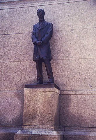 Abraham Lincoln (1912 statue) - Image: Lincoln 0