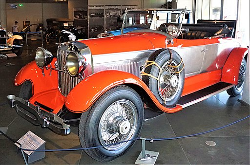 Lincoln Sport Roadster Model L151 - Hellenic Motor Museum - Joy of Museums