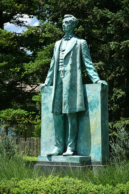 Lincoln the Lawyer (1929), Urbana, Illinois. Lincoln by Taft.jpg