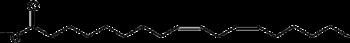 Linoleic acid shorthand formula.PNG