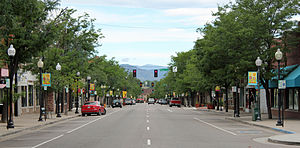 Littleton, Colorado - Main Street in Downtown Littleton