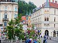 Ljubljana Old Town, Slovenia (Old Camera) (32940175043).jpg