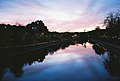 Ljubljanica at sunset (8557695251).jpg