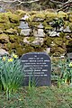 Llandderfel - Tryweryn Memorial Chapel Gravestone - geograph.org.uk - 1612210.jpg