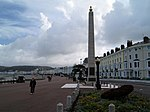 Llandudno war memorial On the sea front at Llandudno.