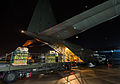 Loading DfiD Humanitarian Aid onto a Hercules C-130J Aircraft at RAF Brize Norton MOD 45158042.jpg