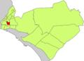 Localització de la Soledat nord respecte del Districte de Llevant.png