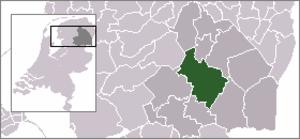 Beilen - Image: Locatie Midden Drenthe