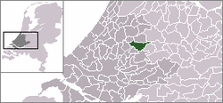Location of Reeuwijk