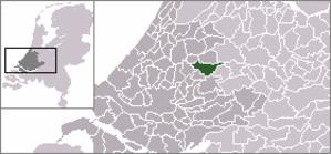 Driebruggen - Image: Locatie Reeuwijk