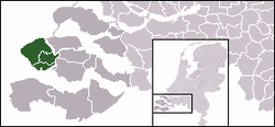 Location of Walcheren
