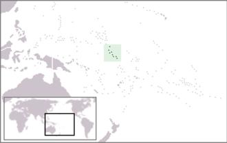 Gilbert Islands - Image: Location Gilbert