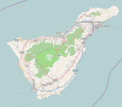 Adeje is located in Tenerife
