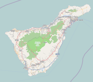 Buenavista del Norte is located in Tenerife