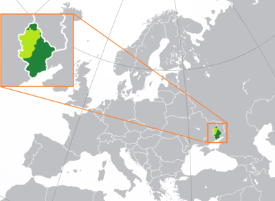 Location of Donetsk People's Republic.png
