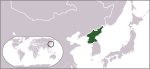 Locator map of North Korea.svg