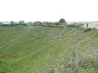 Ovillers-la-Boisselle - Image: Lochnagar mine 01