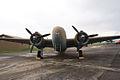 Lockheed C-60A Lodestar HeadOn AirPark NMUSAF 26Sep09 (14599082902).jpg